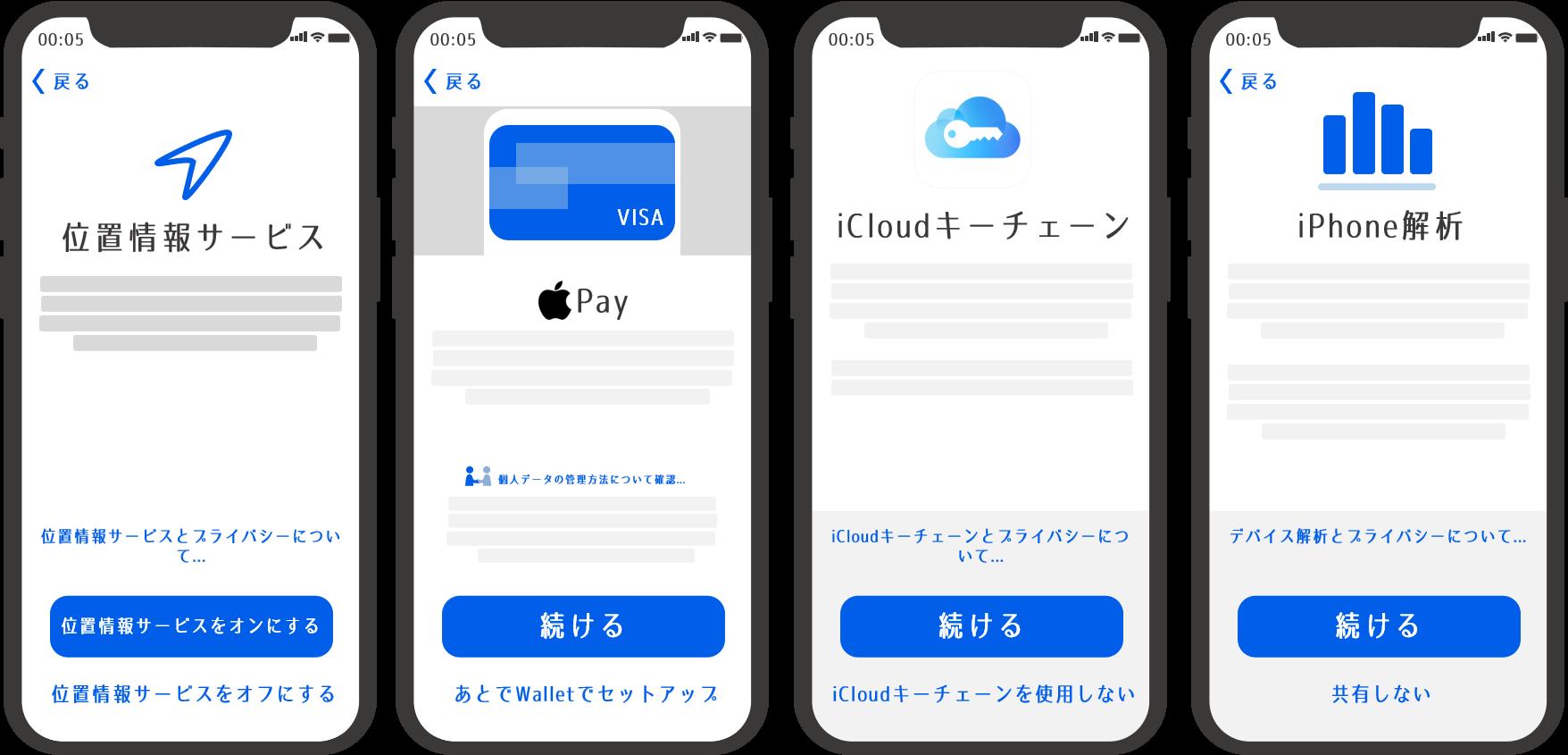 新iphoneでやること16-1 2 3 4