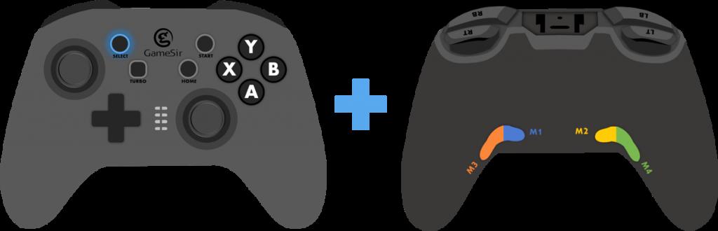 selectと背面ボタン同時押し